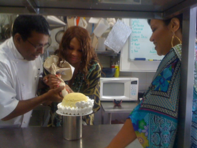Salt n Pepa Cook at Creme Brulee Patisserie