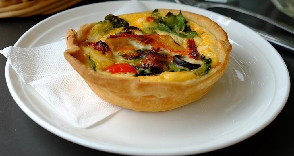 Quiche Goats Cheese Cherry Tomato